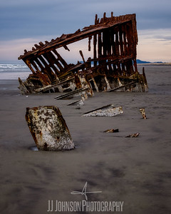 Into the Peter Iredale