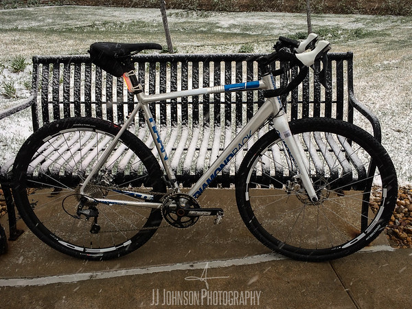 Diamondback in a snowy Commute