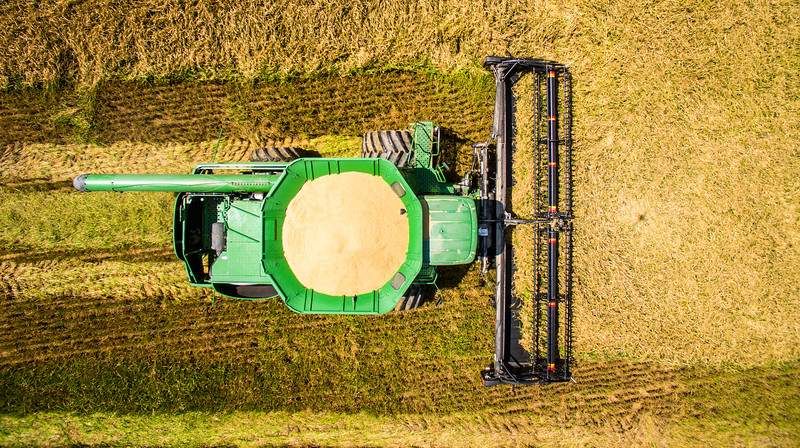 Deere from Above