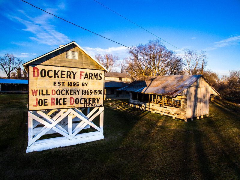 Dusk at Dockery Farms