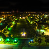 Night Lights on the Quad