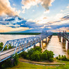 Mississippi River Bridge at Vicksburg
