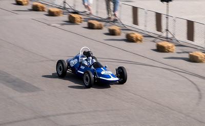 Old formula racing cars