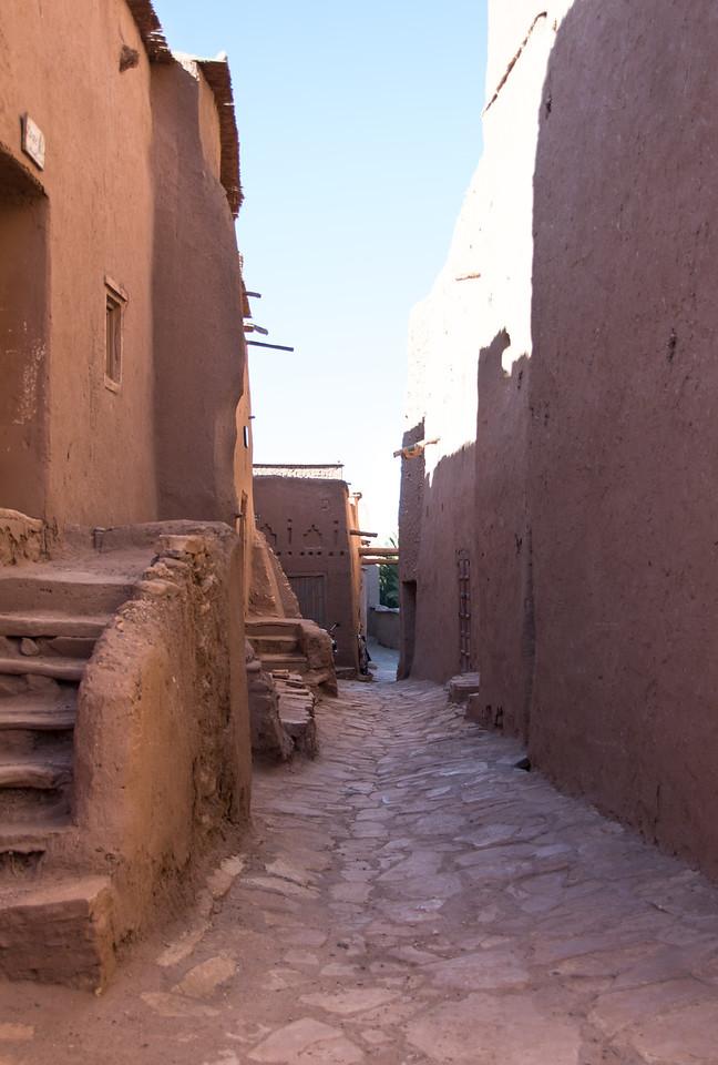 Streets of Ait Benhaddou