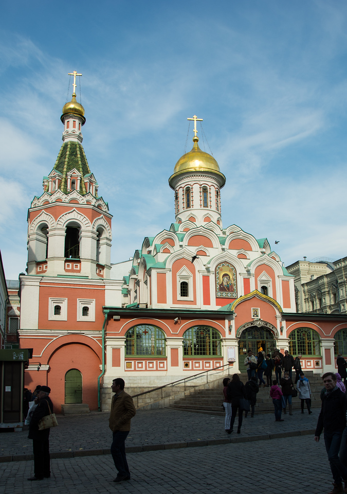 Around Red Square in Moscow