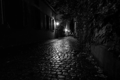 The alley to the famous Schlappeseppel