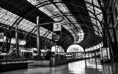 Impressive railway station