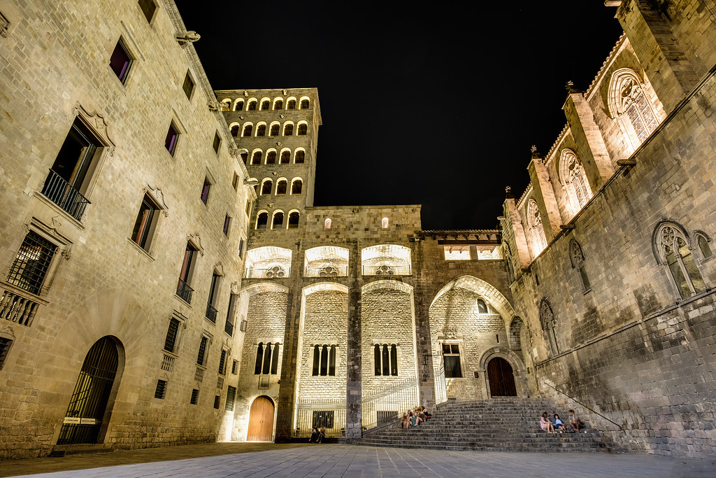 Palau Reial - the old royal palace
