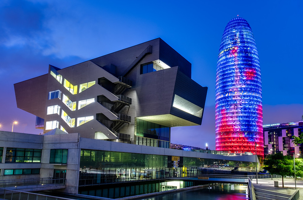 The Torre Agbar Tower