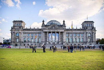 The Reichstag, home of German parliament