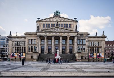 The Gendarmenmarkt buildings