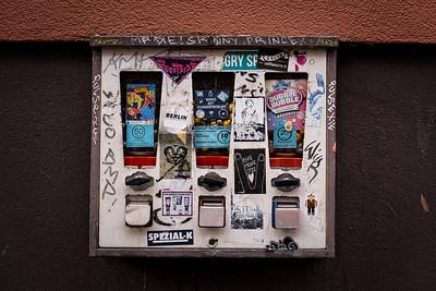 A classical bubble gum machine in Kreuzberg
