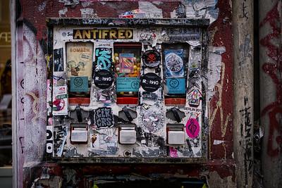 Classical gum machine in Kreuzberg