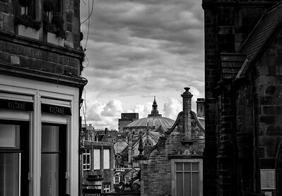 Rooftops of Edinburgh