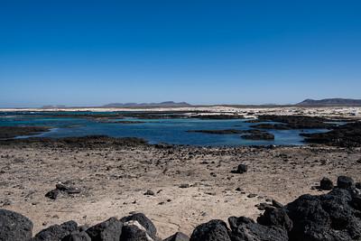 Beaches of the northeast of Fuerteventura