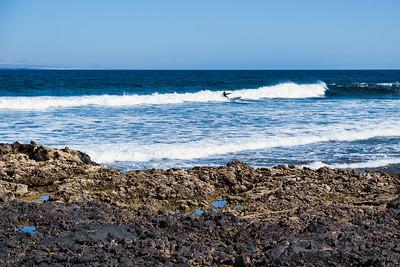 Along the north coast of Fuerteventura