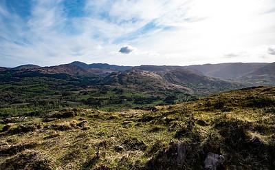 Cork county hills