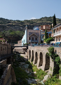 Streets of Tbilisi - the bathhouse