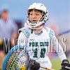 Pine Creek girls lacrosse hosts Liberty High School on April 23, 2016.