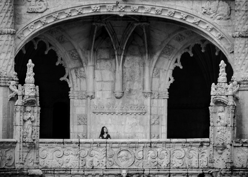 Lonely at the Mosteiro dos Jerónimos