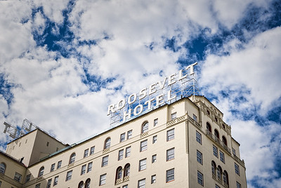 The famous Roosevelt Hotel