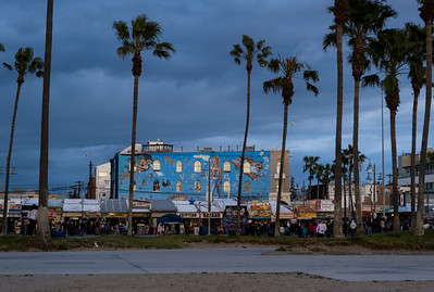 The Venice Beach Boardwalk