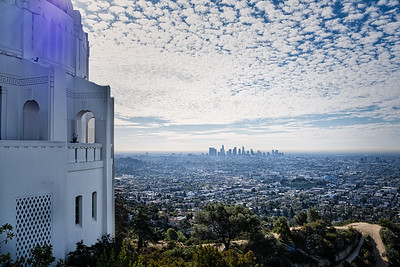 Looking over Los Angeles from the Griffith Observatory