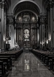 Inside Iglesia de San Isidro