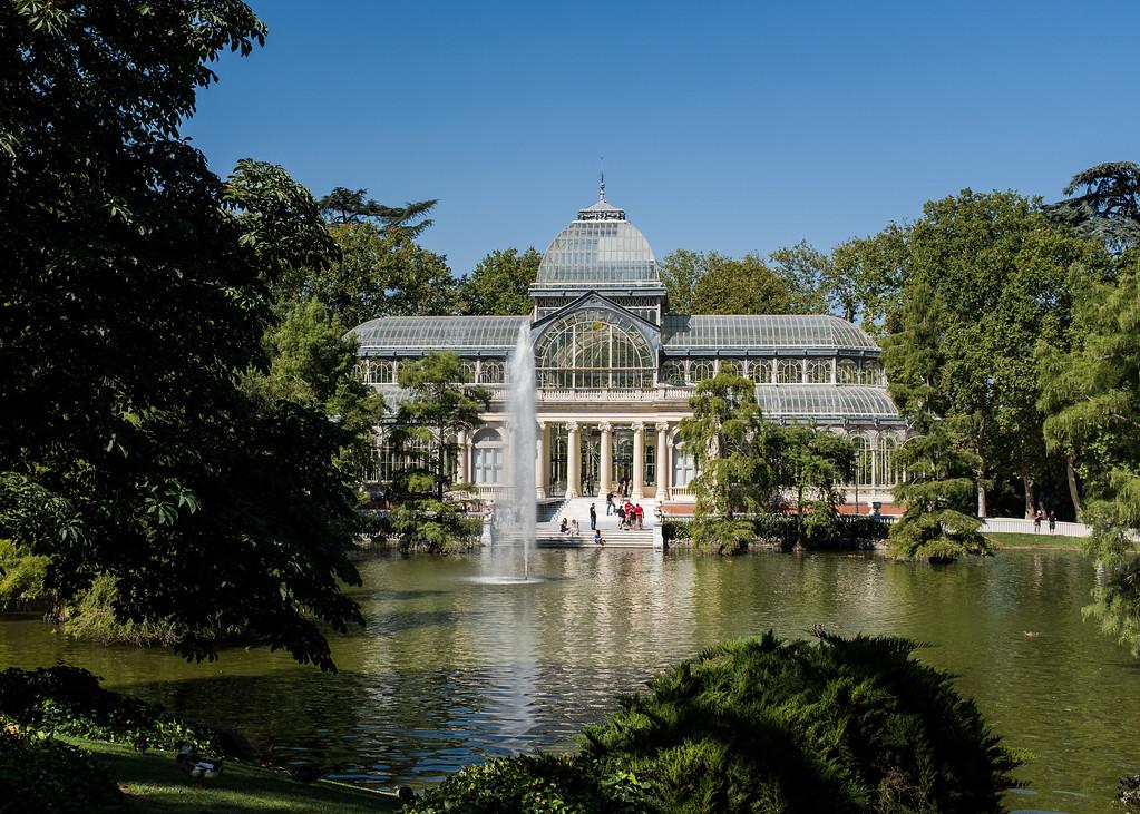 Palacio de Cristal at Parque de El Retiro