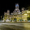 Fuente de La Diosa Cibeles with the Palacios y Museos in the background