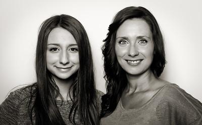 Models Alana  & Mandy
