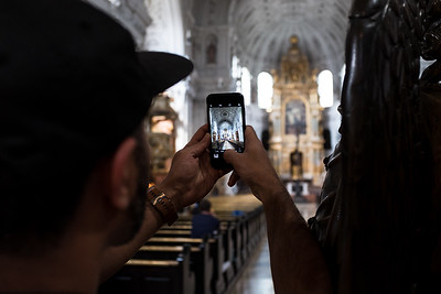 Capturing St. Michaels Church - Munich