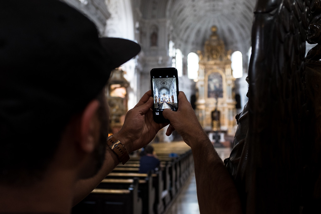 Capturing St. Michaels Church - Munich