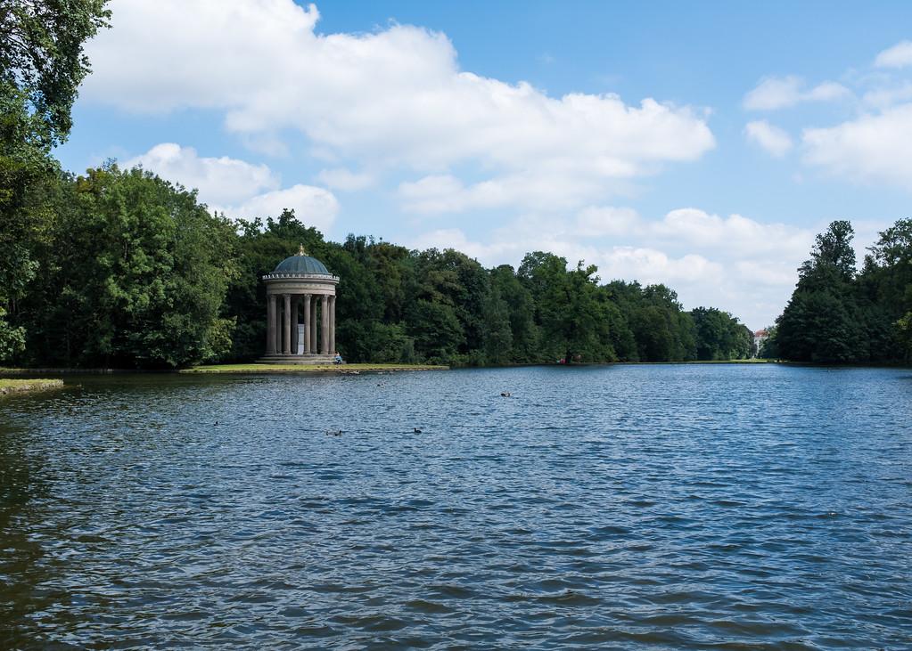 Beautiful Gardens of Schloss Nymphenburg - Munich