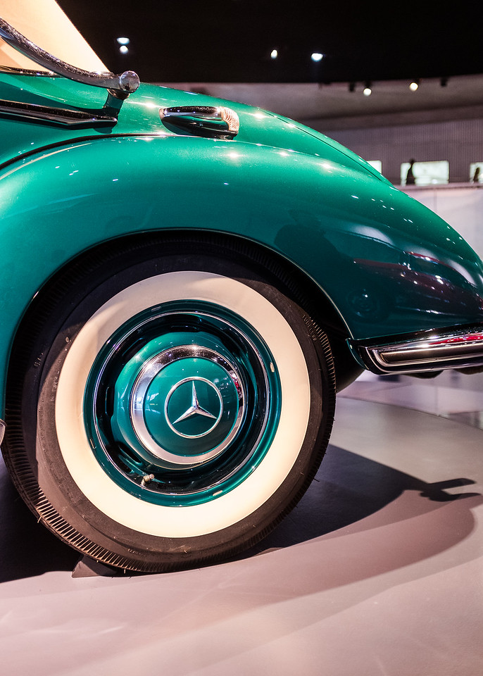 Inside the Mercedes Benz Museum - Stuttgart