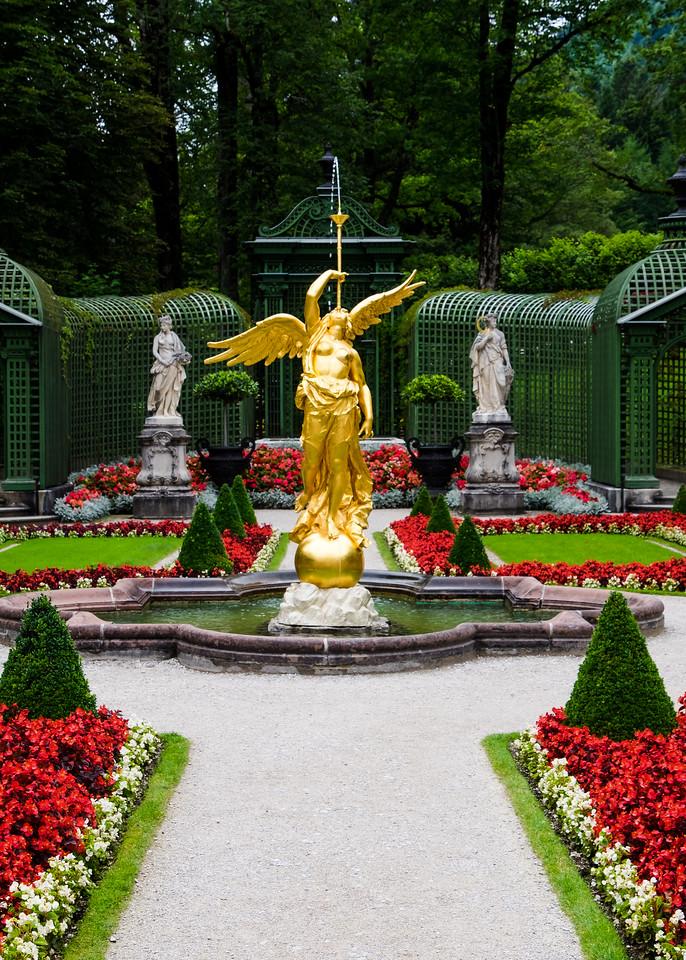 Gardens of Schloss Linderhof - Ettal
