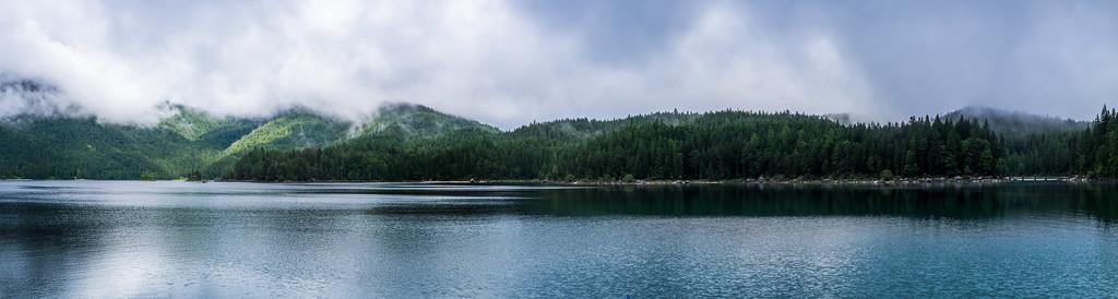 Lake Eibsee Panorama