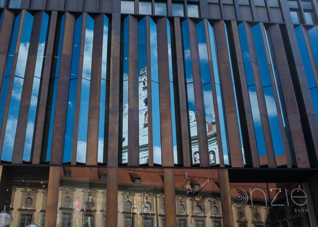 Downtown Munich - Reflections
