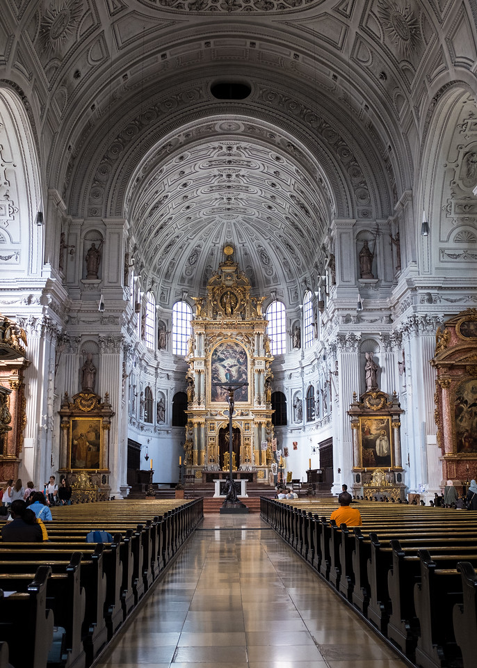 Inside St. Michaels Church - Munich