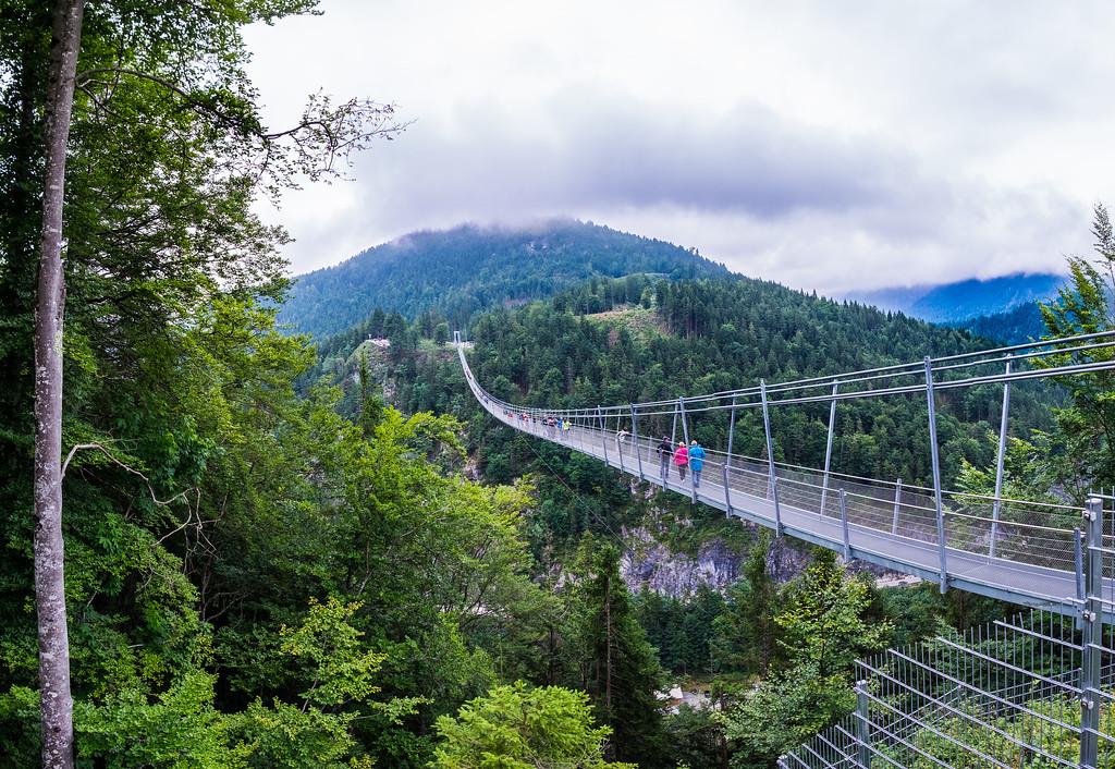 Highline179 Bridge at the Burgenwelt Ehrenberg