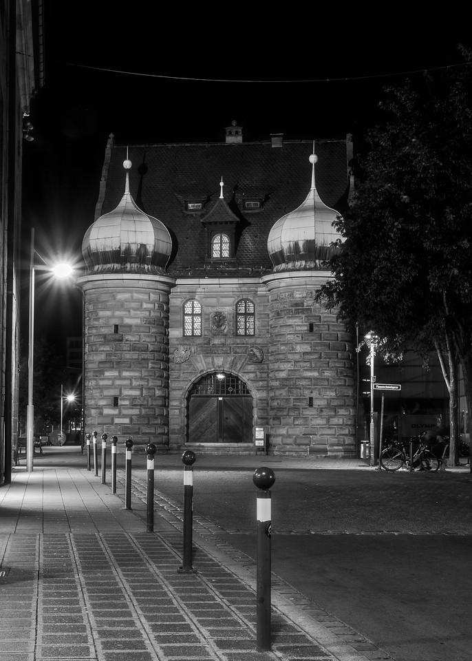 Nuremberg / Nürnberg at night - The old armory