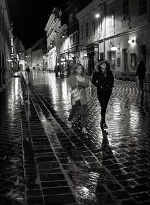 Dark streets of Brasov