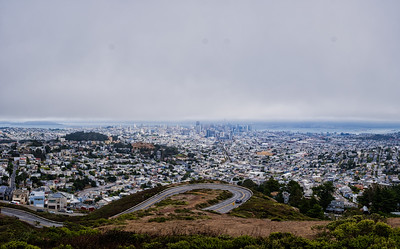 The view from Twin Peaks