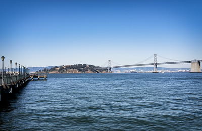 The Bay Bridge and Yerba Buena Island