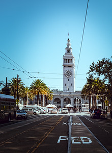 The Ferry Building at the port of San Francisco