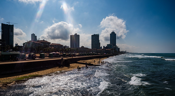 Colombo beach front