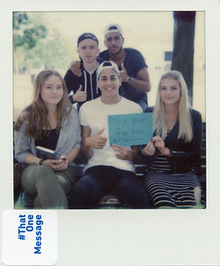 Edis, Ahmet, Isabell, Ferhat, Nona (18), Germany - Enjoy your free time