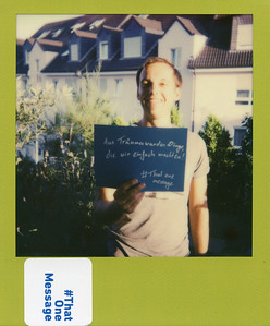 Flo (32) , Germany - Our Dreams became things, which we simply started doing