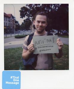 Oskars (24), Latvia - Freedom
