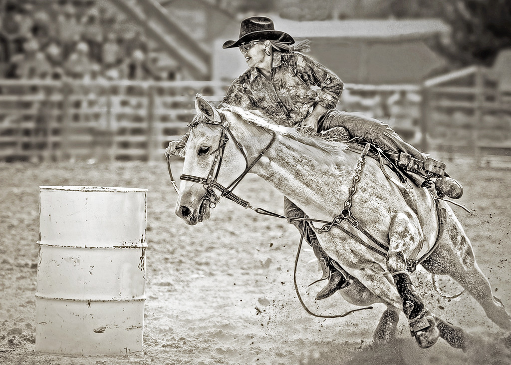 CUTTING CORNERS - Barrel racing at the rodeo